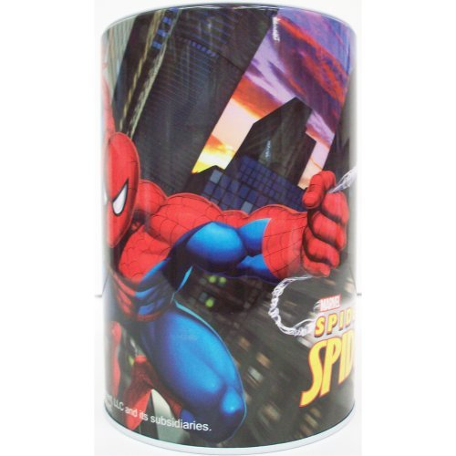 Spiderman Round Tin Bank - 1