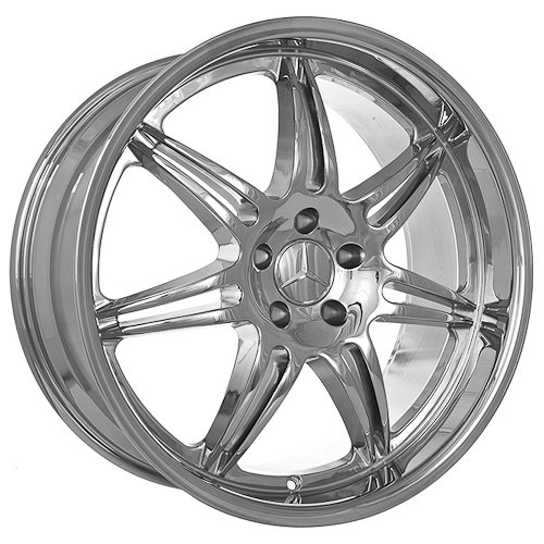 Cheap discount luxury chrome rims online 4 20 for Chrome rims for mercedes benz