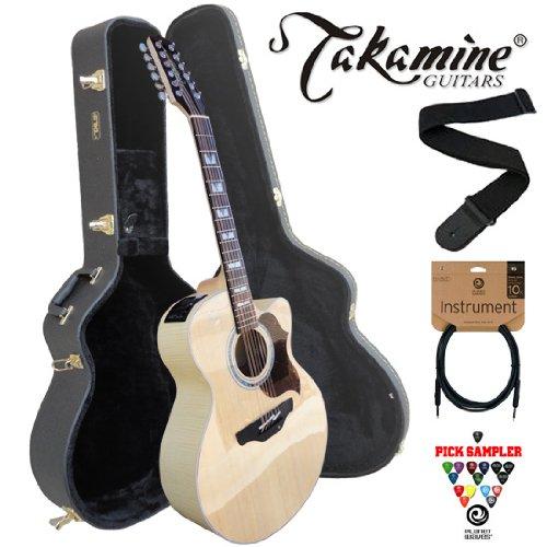 guitars takamine eg523sc 12 jumbo cutaway 12 string acoustic electric guitar kit includes. Black Bedroom Furniture Sets. Home Design Ideas