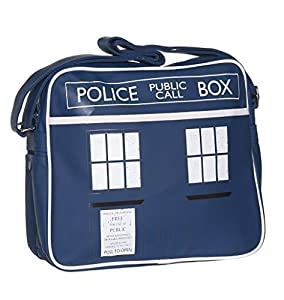 Retro Bag - Dr Who 10th Anniversary Tardis Design