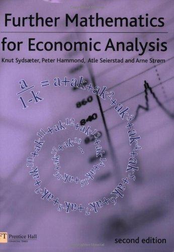 Further Mathematics for Economic Analysis (Financial Times)
