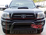 Fits 2005-2014 Toyota Tacoma Black Bull Bar # BB-TAK023B