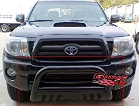 APS BB-TAK023B Black Bull Bar Bolt Over for select Toyota Tacoma Models