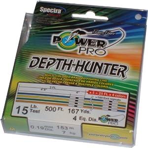 Power Pro Depth-Hunter Metered Line