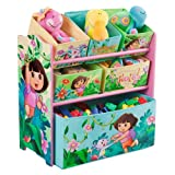 Delta Enterprise Dora the Explrr Multi Bin Toy Org