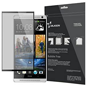 i-Blason HD Matte Bubble Free Screen Protector for HTC One Max (T6, 5.9 Inch Display) Reusable HD Clear