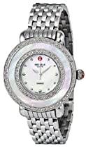 Michele Cloette Diamond Mother of Pearl Dial Stainless Steel Ladies Watch MWW20E000001