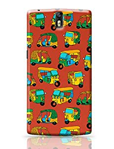 PosterGuy Auto Rickshaw Quirky Pattern Humor OnePlus One Covers