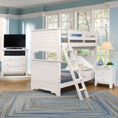 alexander julian s cottage bunk bed bedroom set beach cottage white