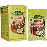 Artisana 100% Organic Raw Coconut Oil, 10 Packets, 1.06 oz (29.68 g) Each