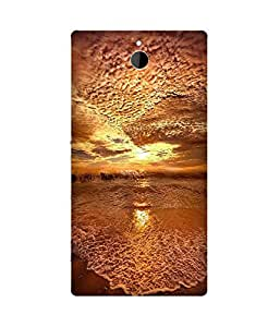 Gold Upside Down Sony Xperia Z2 Case