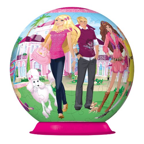 Imagen principal de Ravensburger 12 223 - Barbie: el mundo de Barbie - ® 108 piezas puzzleball