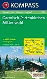 Garmisch-Partenkirchen, Mittenwald. 1 : 35 000: Wander-, Bike-, Skitouren-, Langlauf. GPS-genau