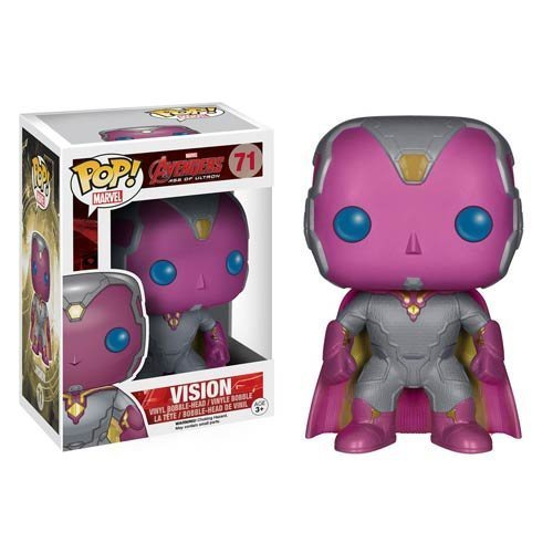 Avengers Age of Ultron Vision Pop! Vinyl Bobble Head Figure - 1
