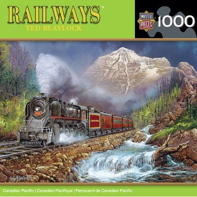 MasterPieces Railways Canadian Pacific Jigsaw Puzzle, 1000-Piece