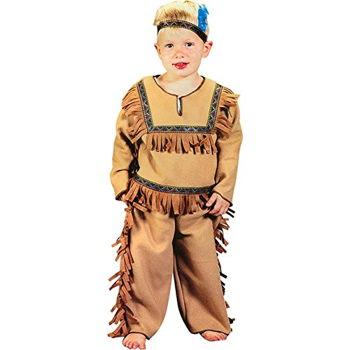 Child's Toddler Native Indian Boy Halloween Costume (2-4T)