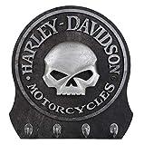 Harley Davidson Skull Key Rack