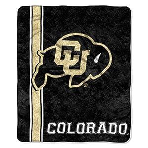 Buy NCAA Colorado Buffaloes Jersey Sherpa Throw Blanket, 50x60-Inch by Northwest