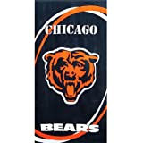 Chicago Bears - Logo Swoosh Velour Beach Towel at Amazon.com