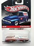 HOT WHEELS 1:64 SCALE REAL RIDERS DELIVERY SLICK RIDES 23/34 '72 FORD RANCHERO