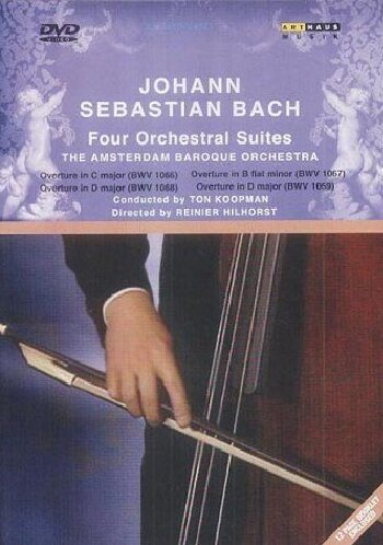 Bach J.S: 4 Orchestral Suites [DVD] [1989] [2002]