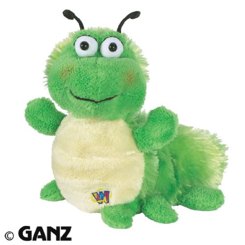 Webkinz Caterpillar March 2011 Pet Of The Month + Free Licensed ANIMAL PLANET 20 Pack Of Nature Bandz Elastic Bracelets & Carabina Klip To Carry Your Bandz!!!