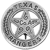 Denix Old West Era Texas Ranger Replica Badge