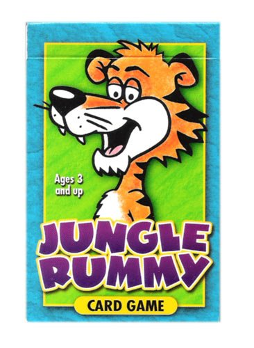 Jungle Rummy Family Educational Card Game by Cartamundi - Naipes Educacionales