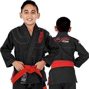 Venum Challenger 2.0 Kids BJJ Gi Black