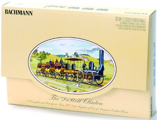 Bachmann Trains The DeWitt Clinton Ready-to-Run HO Train Set (Stagecoach Model Kit compare prices)
