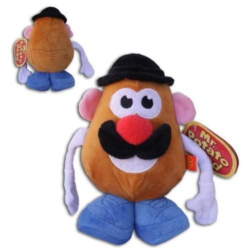 "Mr. Potato Head 8"" Classic New Original Plush Hasbro Soft Toy Doll TV by Play by Play als Geschenk"