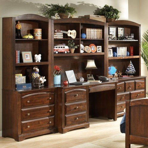 Wall Desk Units For Home: Buy Low Price Comfortable Canyon Ridge Collection Bedroom