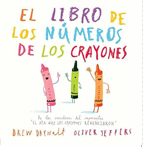 El libro de los números de los crayones  [Drew Daywalt] (Tapa Dura)