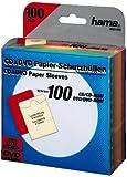 Hama CD/DVD-ROM Papierhüllen 100 Stück, farblich sortiert