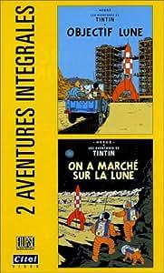 Les Aventures de Tintin : Objectif lune / On a marché sur la lune [VHS]