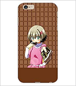 PrintDhaba Cute Girl D-3942 Back Case Cover for APPLE IPHONE 6S (Multi-Coloured)