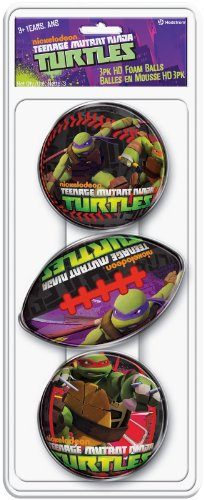Hedstrom Teenage Mutant Ninja Turtle 3Pk Hd Foam