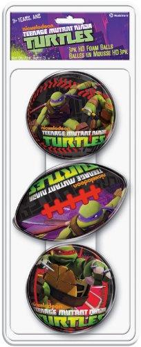 Hedstrom Teenage Mutant Ninja Turtle 3Pk Hd Foam - 1
