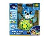 Vtech - A1504961 - Peluche Interactive - Mon Ourson À Merveilles - Bleu