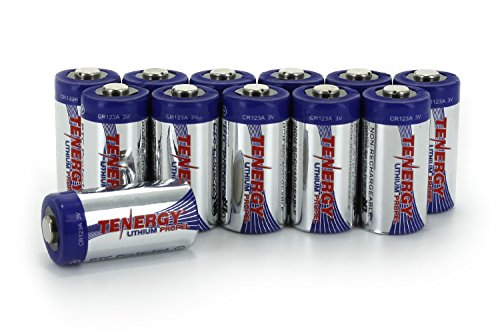 Card: 12Pcs Tenergy Propel CR123A Lithium Battery with PTC Protected (Protected Lithium Battery compare prices)