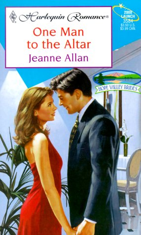 One Man To The Altar (Hope Valley Brides) (Harlequin Romance, 3584), ALLAN
