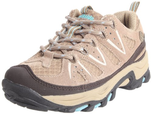 Northside Cheyenne Jr Hiking Boot (Little Kid/Big Kid),Tan/Aqua,3 M US Little Kid