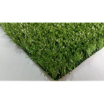 Pet Zen Garden Artificial Grass Rug w/ Drainage Holes & Rubber Backing | 2-Tone Realistic Synthetic Grass Mat | Extra-Heavy & Soft Pet Turf | Lead-Free Fake Grass for Dogs or Outdoor Décor