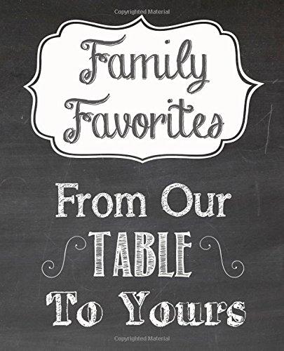 Family Favorites Cookbook