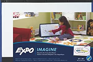 Expo Magnetic Dry Erase Easel Board for Kids, 12 x 18 Inches (1763773)-Doubled Sided