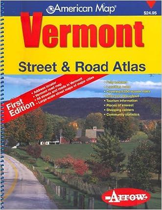 Vermont Street & Road Atlas (American Map) written by Arrow Maps