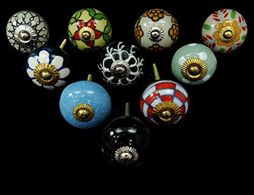 vintage-keramik-schublade-knopfe-kabinett-hardware-dekorative-knopfe