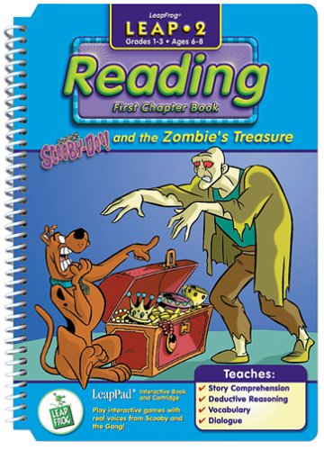 Leap 2 Reading: Scooby-Doo and the Zombie's Treasure Chapter Book - Buy Leap 2 Reading: Scooby-Doo and the Zombie's Treasure Chapter Book - Purchase Leap 2 Reading: Scooby-Doo and the Zombie's Treasure Chapter Book (LeapFrog, Toys & Games,Categories,Electronics for Kids,Learning & Education,Cartridges & Books)