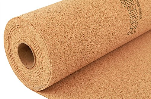 IncStores 6mm Eco-Cork Underlayment - Excellent Subfloor Under Layment for Natural Stone, Ceramic, Vinyl, Linoleum & Wood Flooring (4 ft x 50 ft) (Natural Cork Flooring compare prices)