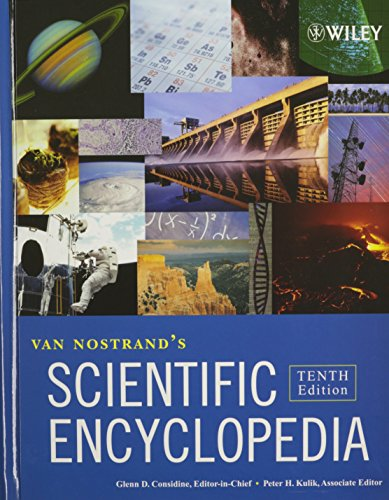Van Nostrand's Scientific and Chemistry Encyclopedias Set